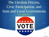 Standards 15-17 (The Election Process, State and Local Governments)
