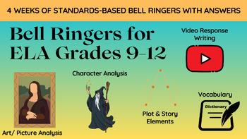 Standards Aligned High School Bell Ringers