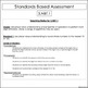 Standards Based Assessments: 3rd Grade Math *ALL STANDARDS* {Common Core}