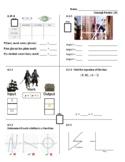 Standards Based Assessment (8th Grade Math) Week 24