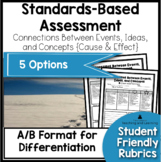 Standards Based Assessment: Cause and Effect RI.3