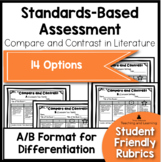 Standards Based Assessment: Compare and Contrast Text