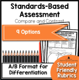 Standards Based Assessment: Comparing and Contrasting Same Topic Text