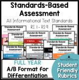 Standards Based Assessment: Complete Set of Informational