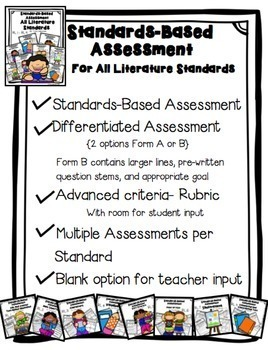 Standards Based Assessment: Complete Set of Literature Standards