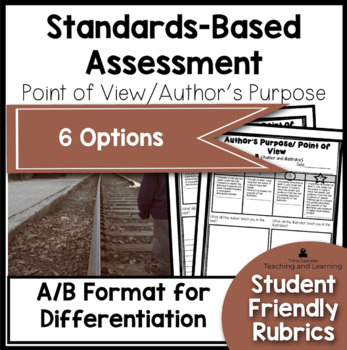 Standards Based Assessment: Point of View/Author's Purpose