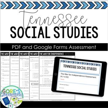 Tennessee Social Studies Test 4th Grade 4.1-4.3