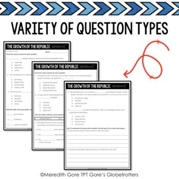 Standards Based Assessment TN SS 4th Grade 4.21-4.36