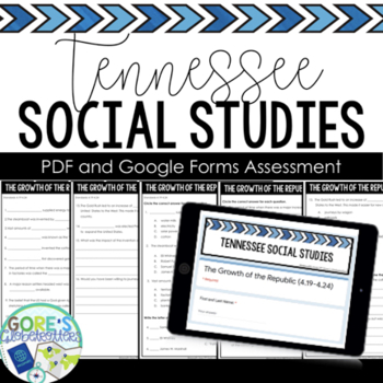 Tennessee Social Studies Test 4th Grade 4.21-4.36