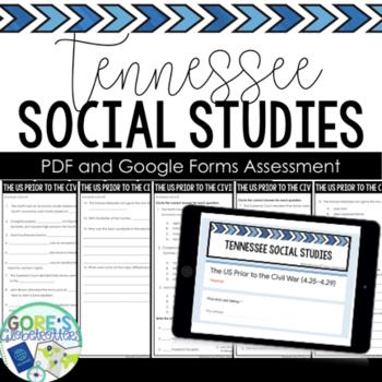 Standards Based Assessment TN SS 4th Grade 4.37-4.42