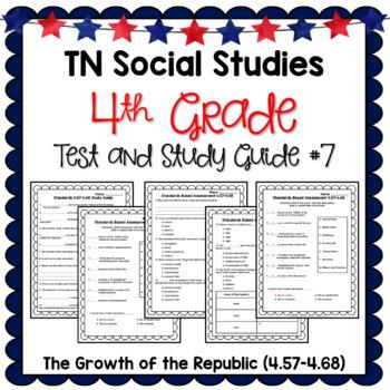 Tennessee Social Studies Test 4th Grade 4.57-4.68