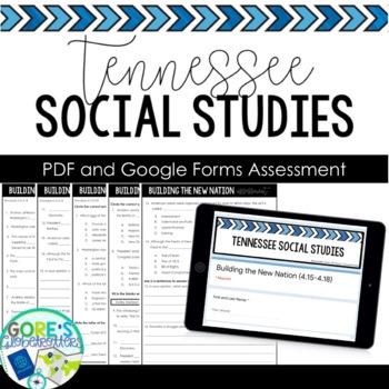 Standards Based Assessment TN SS 4th Grade 4.7-4.20