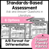 Standards Based Assessment: Asking and Answering Questions