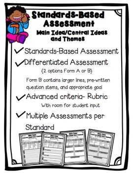 Main Idea and Central Theme: Standards Based Assessment