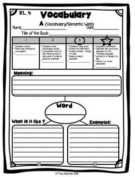 Standards Based Assessment for Second Grade {Vocabulary}