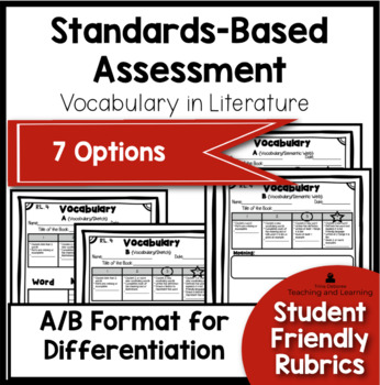 Standards Based Assessment for Second Grade {Vocabulary}