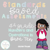 Multiple Choice Quick Check Standards Based Assessments 4.NBT.1