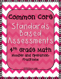Standards Based Assessments: All Fractions Standards (4th