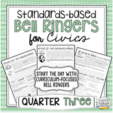 Standards-Based Bell Ringers for Civics & American Governm