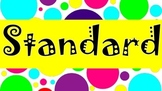 Standards - Based Classroom: 3 Part Lesson Labels- 7 DIFFE