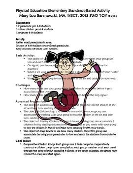 Standards-Based Elementary PE Activity