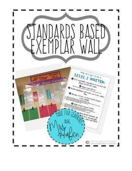 Standards Based Exemplar Wall