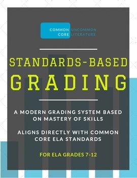Standards-Based Grading | Master CCSS Aligned ELA Grading Framework