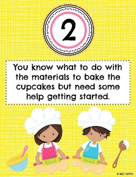 Standards Based Grading Posters - Cupcake Analogy for Students
