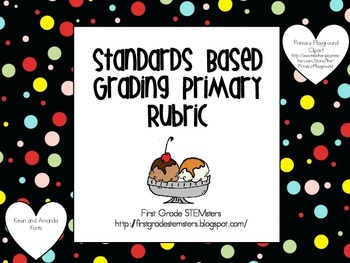 Standards Based Grading Primary Rubric