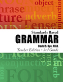 Standards Based Grammar: Grade 3 eBook