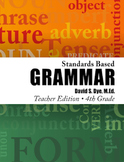 Standards Based Grammar: Grade 4 eBook