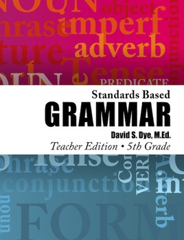 Standards Based Grammar: Grade 5 eBook