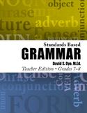 Standards Based Grammar: Grades 7-8 eBook