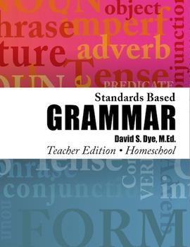 Standards Based Grammar: Home School Edition eBook