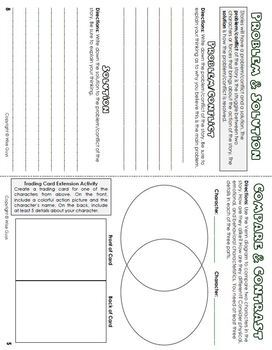 Standards Based Guided Reading Novel Booklet