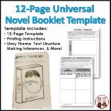 Standards Based Guided Reading Novel Booklet