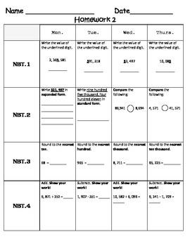 Standards Based Homework-Week 2