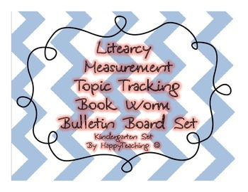 Standards Based Literacy Measurement Topic Bulletin Board Pieces