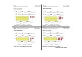Standards-Based Math Exit Cards (1st Grade)