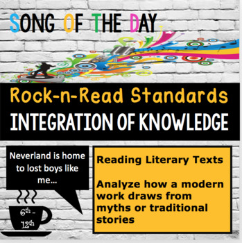 Standards Based Mini-Lesson:  Allusions in Modern Text, Song of the Day