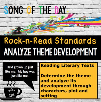 Standards Based Mini Lesson:  Anayzing Theme Development, Song of the Day