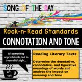 Standards Based Mini-Lesson: Connotation, Figurative Language and Tone