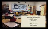 Standards-Based Narrative Rubric: Middle School (pdf)