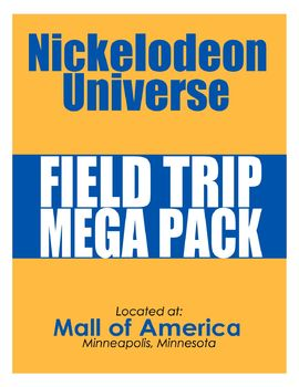 Standards-Based Nickelodeon Universe Field Trip Mega Pack