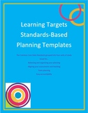 Standards-Based Planning Outline Templates - 7th Grade ELA