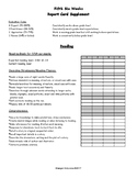 Standards Based Reading Rubric:  5th Six Weeks, 1st Grade
