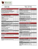 Standards Based Report Card - 3rd Grade