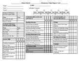 Standards Based Report Card Grades K-8