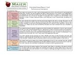 Standards Based Report Cards - Performance Descriptors