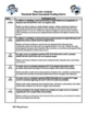 Writing a Character Analysis - Standards Based Rubric